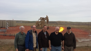 Pastor's tour the Bakken